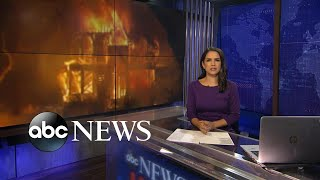 ABC News Live Update: 2 new wildfires break out overnight, scorching nearly 11K acres