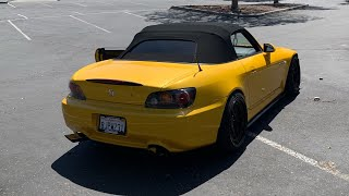 Made the S2000 LOUD! (Blast Pipes)