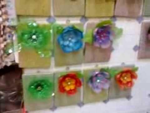 Flores de plastico reciclado 2 c musica youtube - Flores de plastico ...