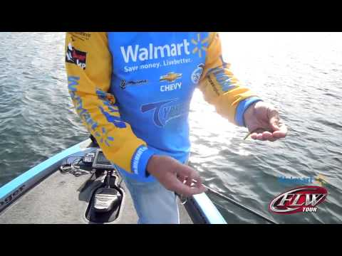 Fishing with FLW - Walmart pro Wesley Strader gives tip on using a drop-shot rig