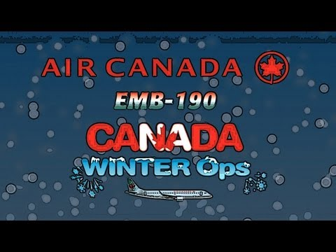 Air Canada EMB-190 Canada Winter Ops