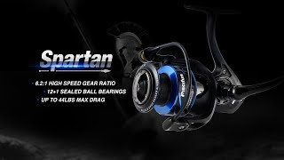 NEW Piscifun Spartan Spinning Reel for 2018 - This spinning reel is ready for battle!