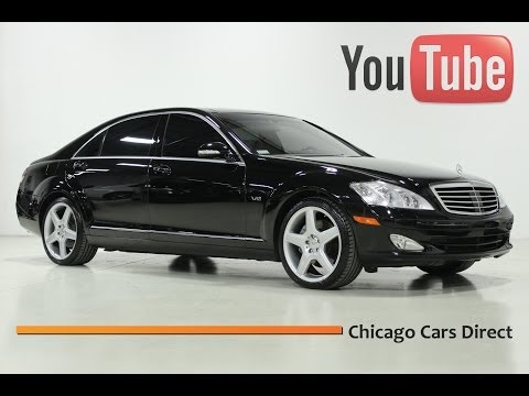 Chicago Cars Direct Presents a 2007 Mercedes-Benz S600 V12. Obsidian Black/Black. #090188