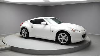 2010 Pearl White Nissan 370Z Coupe #J055A