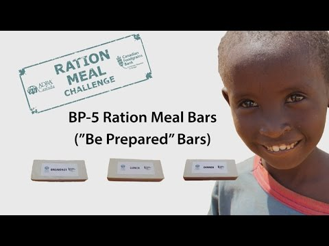 BP5 Ration Meal Bars