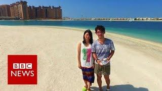 Taking a drone on honeymoon - BBC News
