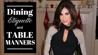Dining Etiquette 101 - Table Manner Tips and Tricks | TOPICS WITH TRACY
