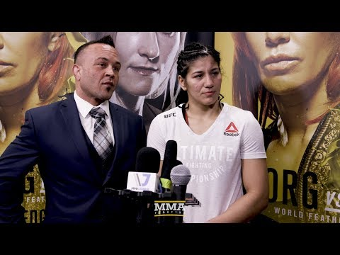 UFC 222 Ketlen Vieira Explains why She Deserves a Title Shot Next – MMA Fighting