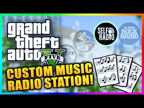 GTA 5 PC Gameplay - How To Create Custom Radio Station - Self Radio Install Custom Music! (GTA V PC)