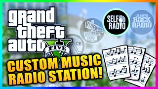 GTA 5 PC Gameplay - How To Create Custom Radio Station - Self Radio Install Custom Music! (GTA V PC)