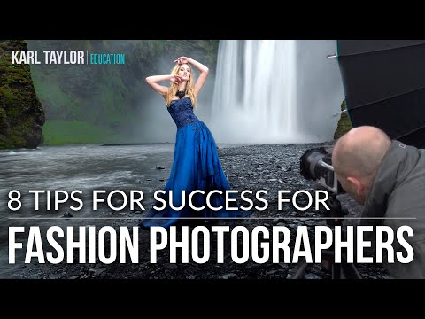 8 Tips for Succeeding as a Fashion Photographer