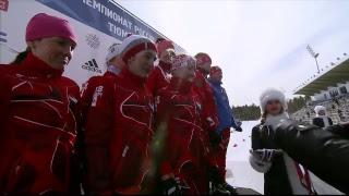 Биатлон. Чемпионат России-2017. Женщины. Эстафета