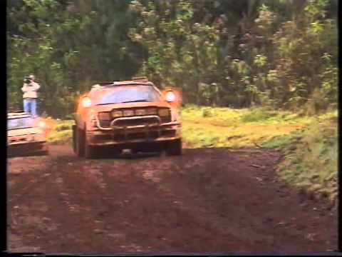 WRC 1991 - Rally Safari - Kenya