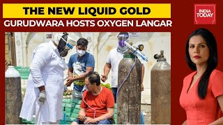 Delhi Oxygen Crisis: Oxygen Langar Organised By Gurudwara In South Delhi Amid Covid-19 Surge