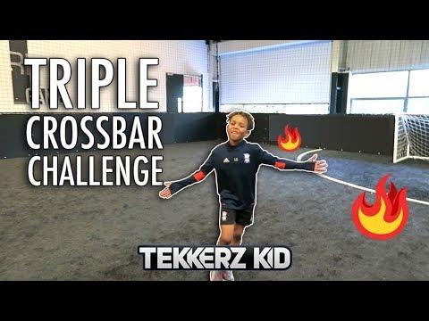 Weak Foot + Strong Foot & Skill Crossbar Challenge
