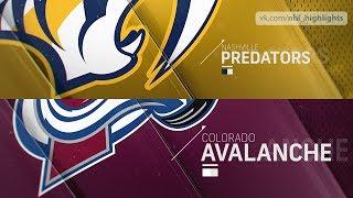 Nashville Predators vs Colorado Avalanche Jan 21, 2019 HIGHLIGHTS HD