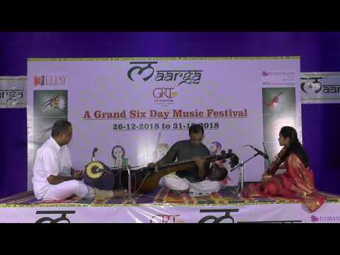Maarga Festival 2018 L Balu Masti - Veena  L Carnatic Vocal Concert L 28th Dec 2018 L Day 03