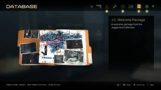Deus Ex: Mankind Divided - Story Items: Whisper Chip & JC Welcome Package Information Appearance PS4