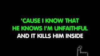 Karaoke Unfaithful-Rihanna Video
