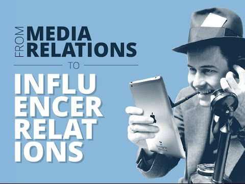 From media relations to influencer relations