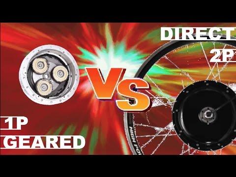 Direct Drive VS Geared Motor electric bike