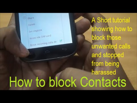 how to block unwanted calls and contacts youtube. Black Bedroom Furniture Sets. Home Design Ideas