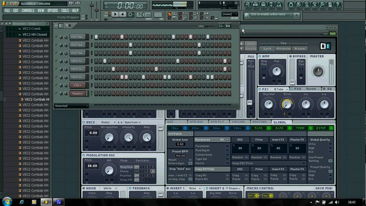 FL Studio Dubstep Tutorial: How To Make a Simple Dubstep Beat Using Z3ta+ or Massive - YouTube