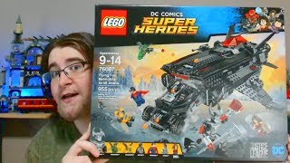 Flying Fox Batmobile Airlift Attack 76087 Batman Justice League LEGO Review