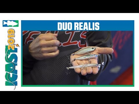 Duo Realis Spinbait 72 Alpha Spybait & New Spinbait Colors | ICast 2019