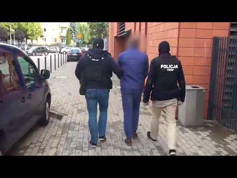 Policjanci z rzeszowskiego CBŚP zapobiegli wyłudzeniu kilkumilionowego zwrotu podatku VAT. [VIDEO]