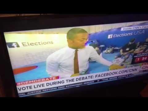 "Don Lemon On CNN ""Facebook Has So Much Money"" #demdebate - Zennie62"