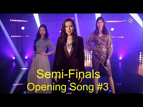 Opening Song #3    Alice & Mariel & Claudia    The Voice 2019 Semi-Finals (Germany)