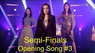 Opening Song #3 || Alice & Mariel & Claudia || The Voice 2019 Semi-Finals (Germany)