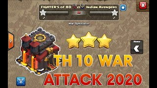 TOP 2 BEST TH10 War Attack Strategies VS Damage CC Troops in Clash of Clans | Mr Clash of Clans