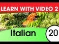 Learn Italian with Video - Don't Shop in Italian Without These Words