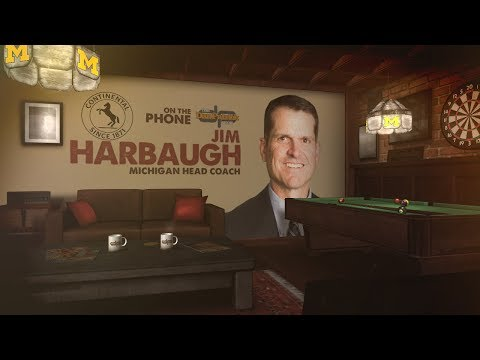 Jim Harbaugh Talks Dad, Ohio State, The Wire & More w/Dan Patrick | Full Interview | 11/6/18