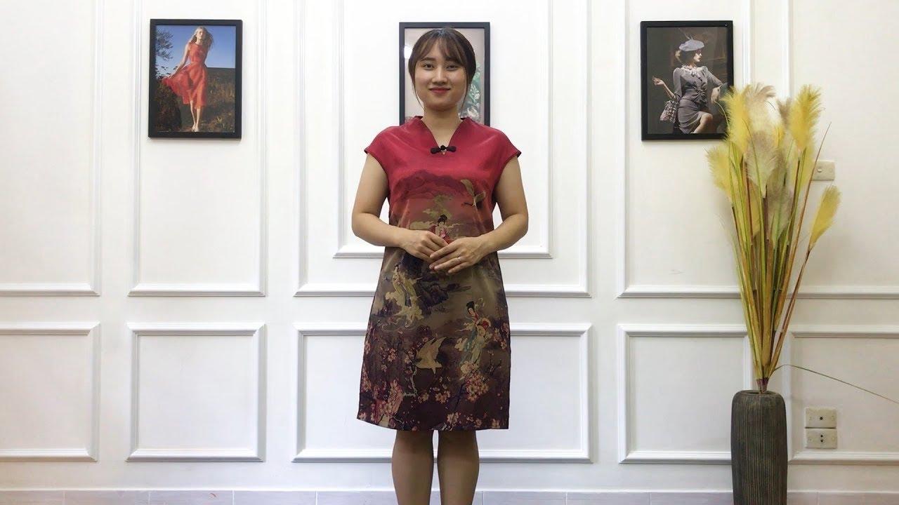 Váy Trung Niên – VÁY SƯỜN XÁM – VSX – 399K