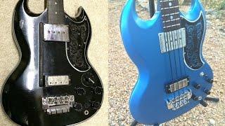 1965 Gibson EB 3 Bass Restoration Slideshow