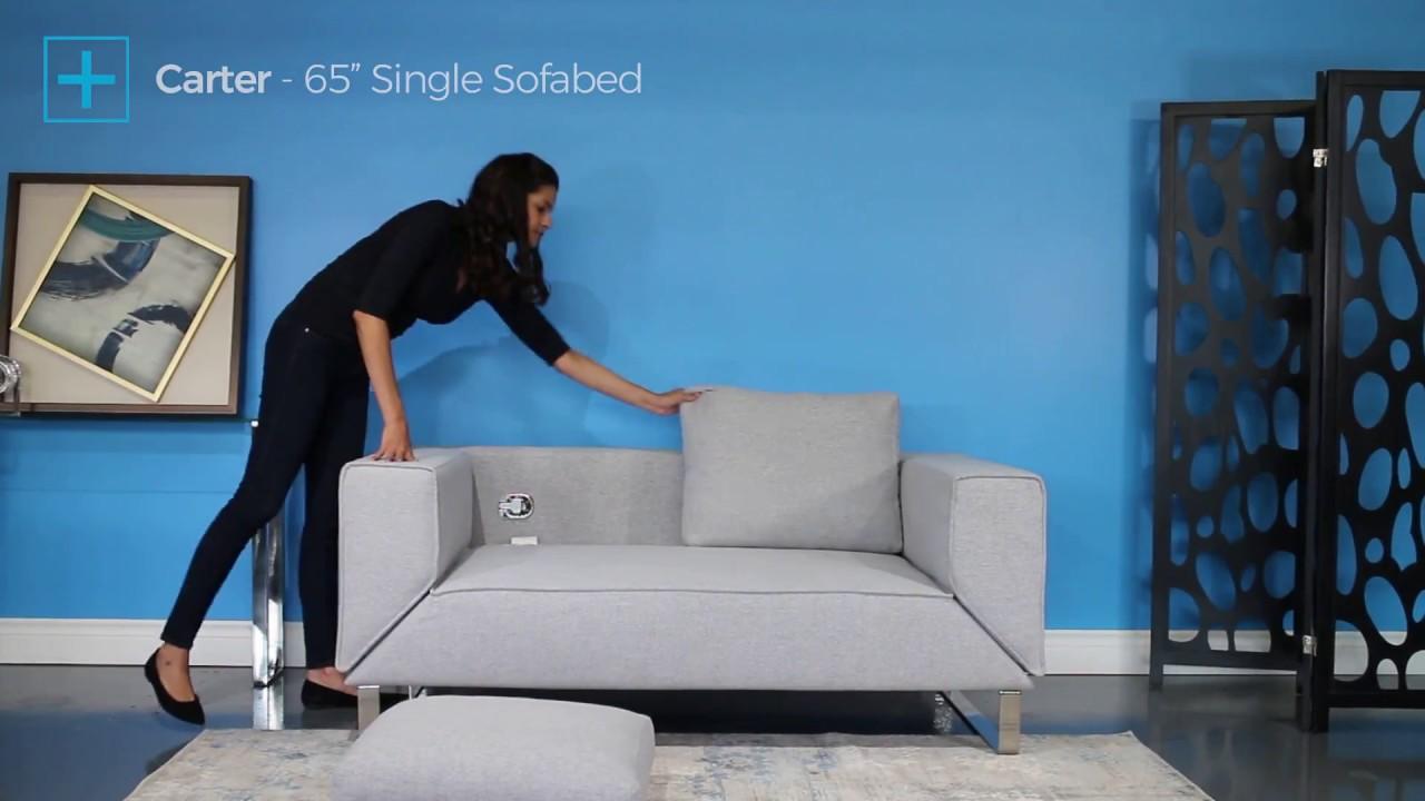 Carter 65 Single Sofa Bed Small
