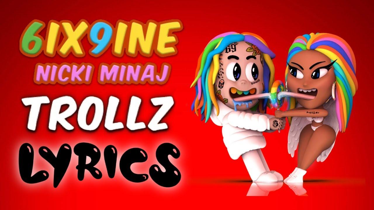 6ix9ine, Nicki Minaj – TROLLZ (Lyrics)
