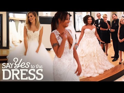 The Most Beautiful Lazaro Gowns!   Say Yes To The Dress Atlanta