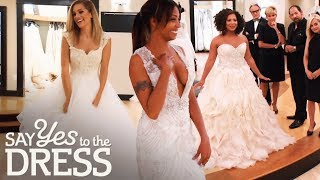 The Most Beautiful Lazaro Gowns! | Say Yes To The Dress Atlanta