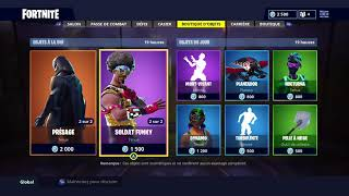 Fortnite 21 August Shop with Skins: Omen - Soldier Funky - Dynamo - Nocturna 08/21/2018