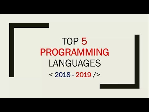 Top 5 Programming languages to learn before end of 2018