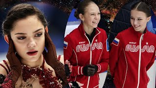 Предолимпийский ЧМ по фигурному катанию 2021 Щербаковой и Трусовой нужно избежать судьбу Медведевой