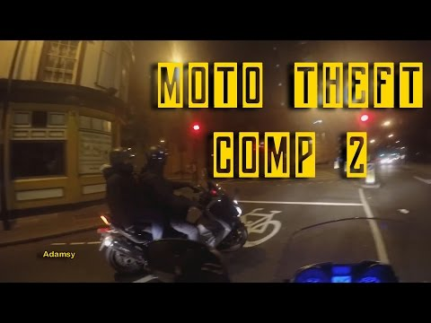 Motorcycle Theft UK Compilation 2