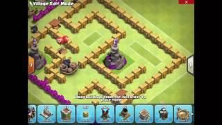How to build a Maze Base (Town Hall 6) | Clash Of Clans