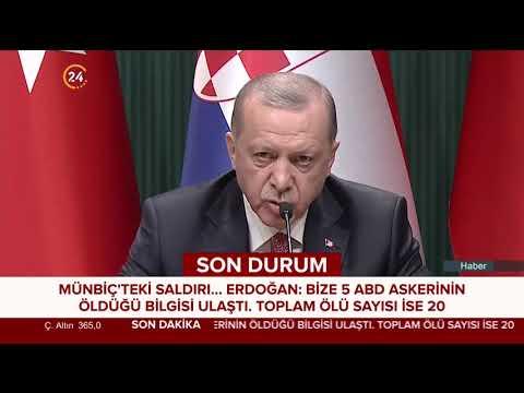 Başkan Erdoğan: Güvenli bölgeyle ilgili üzerimize düşeni yapacağız