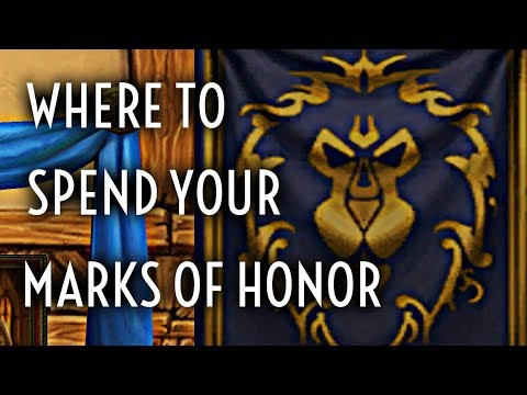 WoW Guide - Spending Marks Of Honor - Beginners Guide