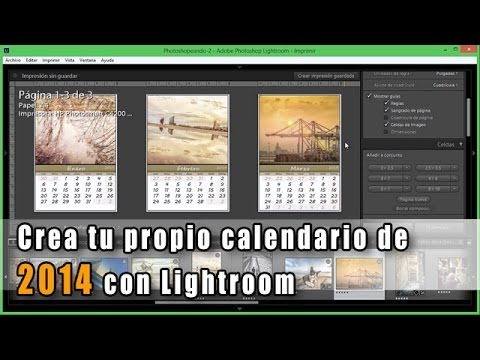 433 crea tu propio calendario de 2014 desde lightroom